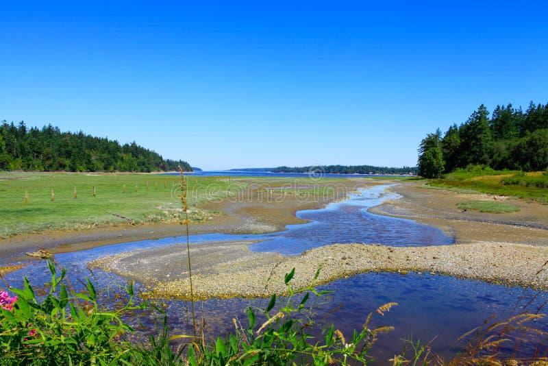 Marrowstone海岛 奥林匹克半岛 状态华盛顿 库存图片