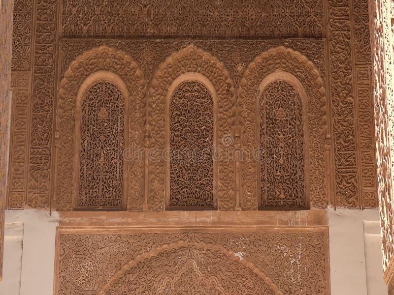 marruecos en el citi de Marrakesh África fotografía de archivo