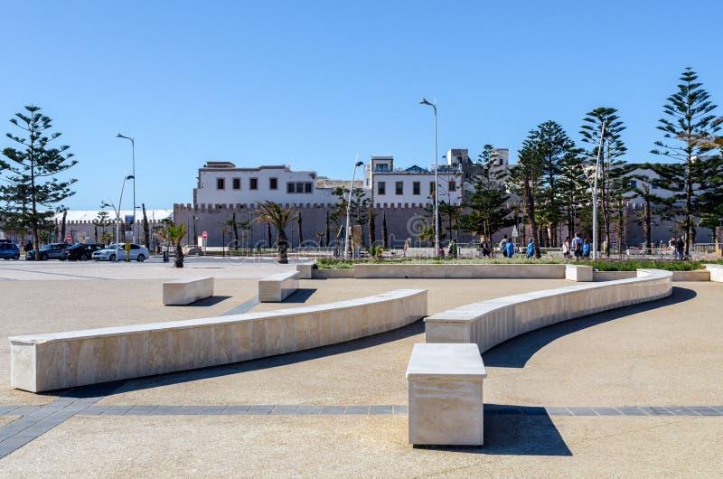 Marruecos increíble, Essaouira que sorprende, mes de marzo, pequeña área imagen de archivo