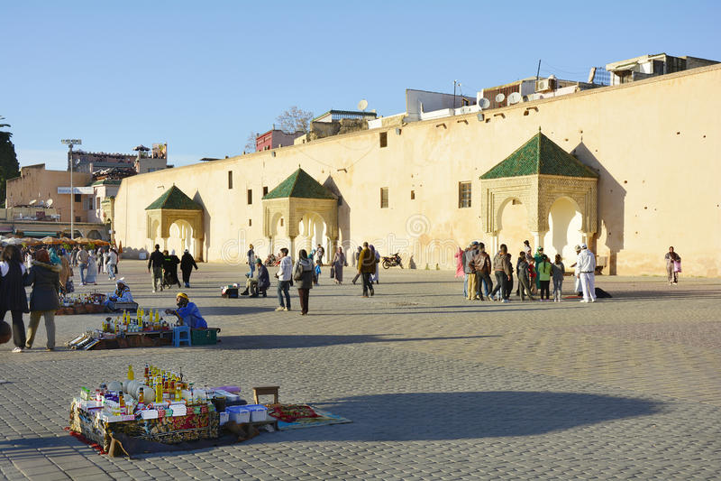 Marruecos, Meknes fotos de archivo