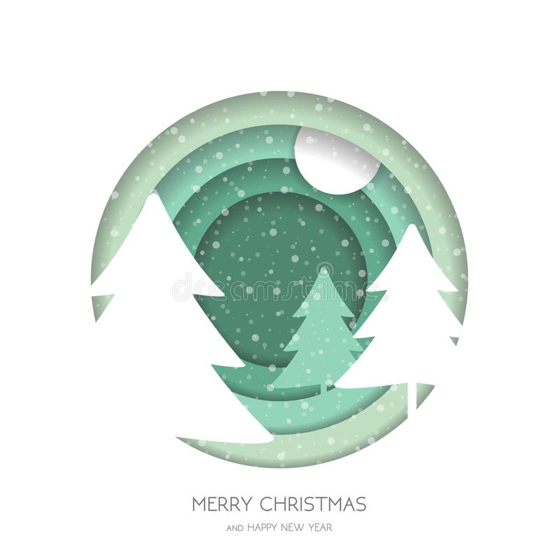 Marry Christmas greeting card royalty free stock photos