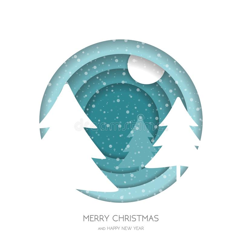 Marry Christmas greeting card royalty free stock photography