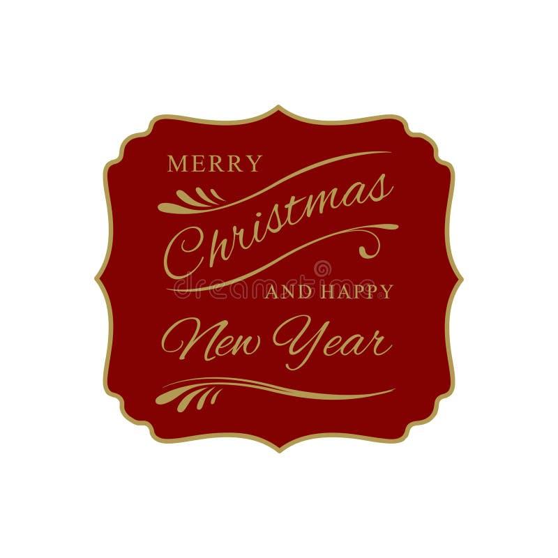 Holiday season greeting royalty free illustration