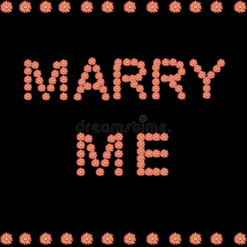 Free Marry Me Royalty Free Stock Image - 11300996