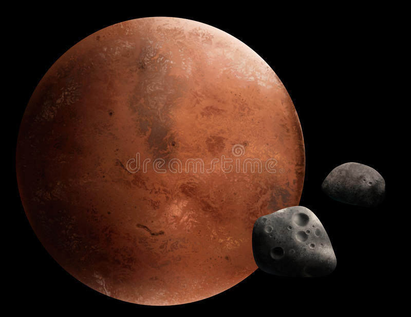 Mars vector illustratie