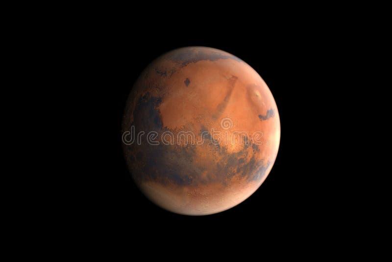 Mars lizenzfreie abbildung