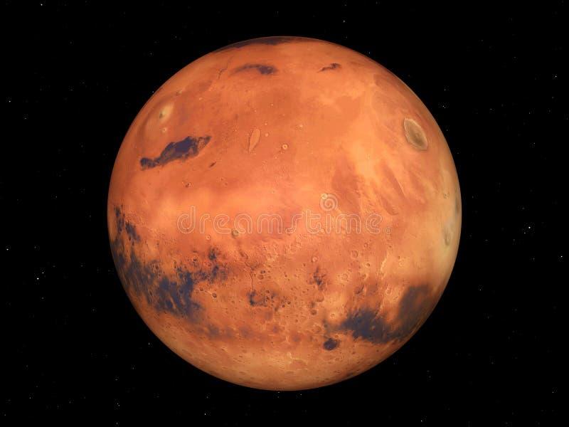 Mars vector illustratie