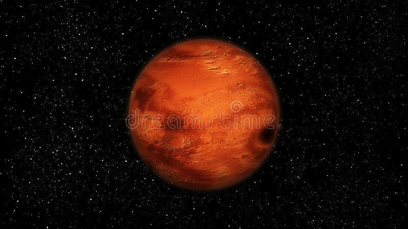 Mars. Aka Red Planet, forth planet from the Sun