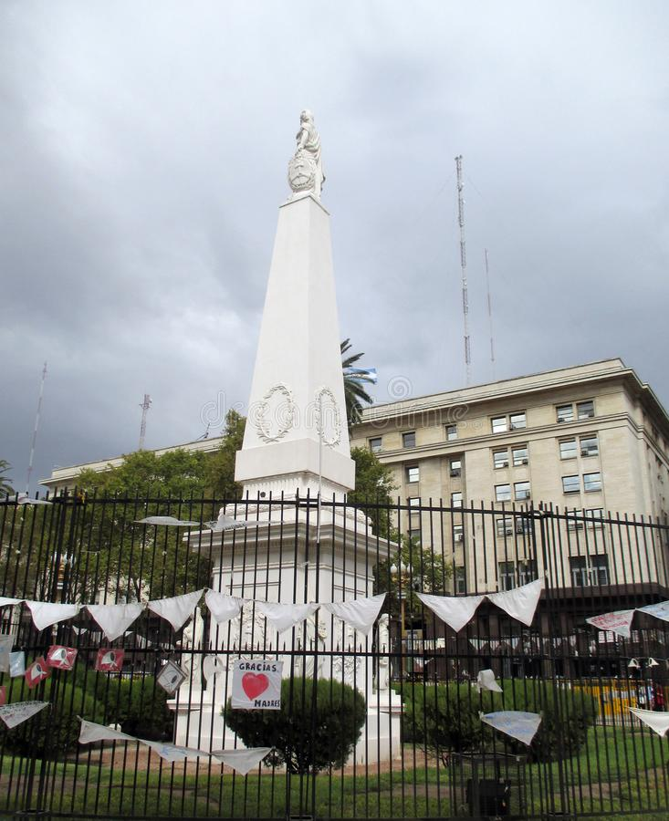 Mars 2084 des mères de Plaza de Mayo à Buenos Aires Argentine photos stock
