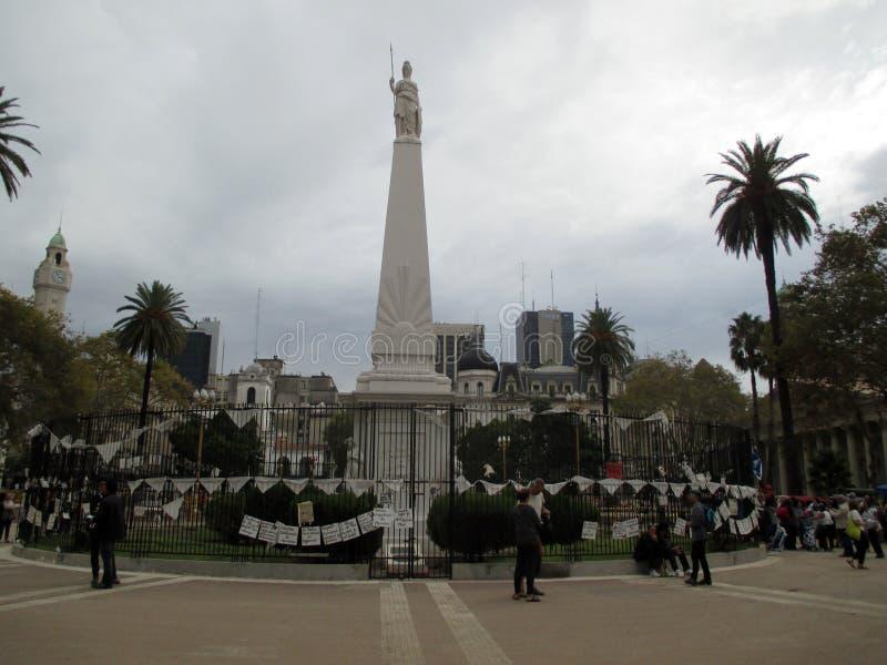 Mars 2084 des mères de Plaza de Mayo à Buenos Aires Argentine image libre de droits