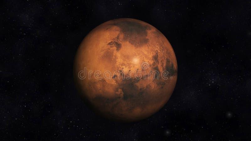 Download Mars stock illustration. Illustration of solarsystem - 36293655