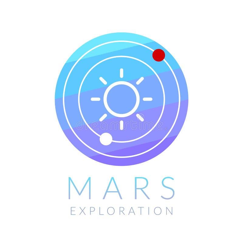 Mars exploration vector illustration vector illustration