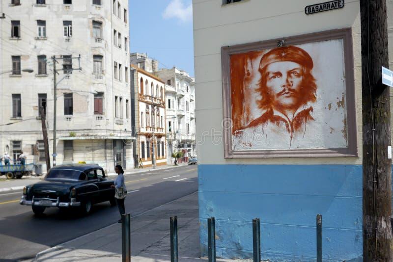 6 mars 2016 - havannacigarr, Kuba: Klassisk gataplats i havannacigarren, Kuba fotografering för bildbyråer