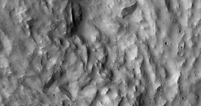 Mars Landscape In Black And White Free Public Domain Cc0 Image