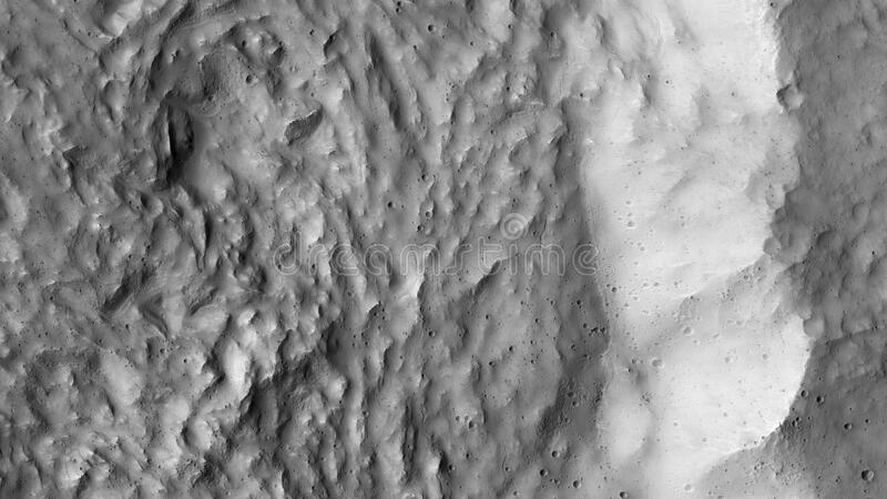 Mars landscape royalty free stock photography