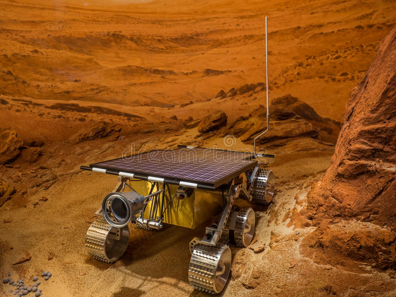Mars Rover photo libre de droits