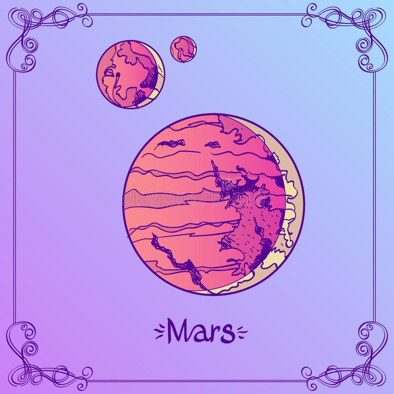 Astrology Border Stock Illustrations – 1,084 Astrology