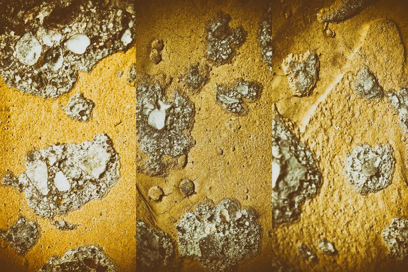Mars Texture of plaster on the wall, cracked background, stone surface. For web site or mobile devices stock image