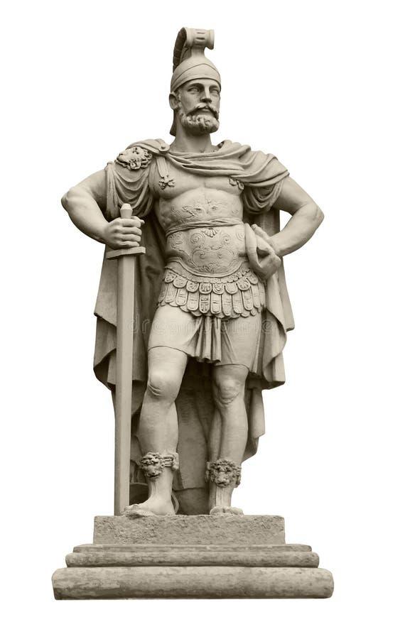 Mars, un dieu de guerre romain images stock