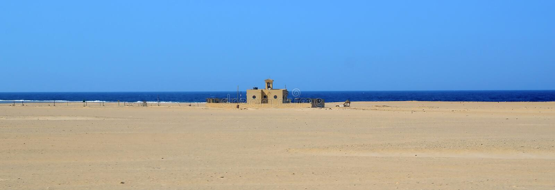 De woestijn van Marsa alam royalty-vrije stock afbeelding