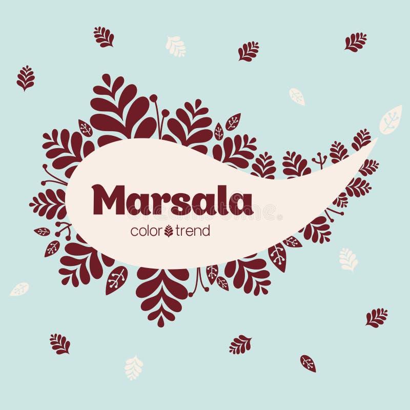 marsala arkivbild