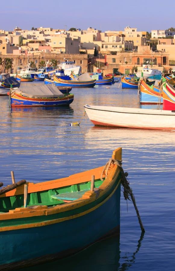 Download Marsaxlokk Fishing Village #1 Stock Photo - Image: 2771368