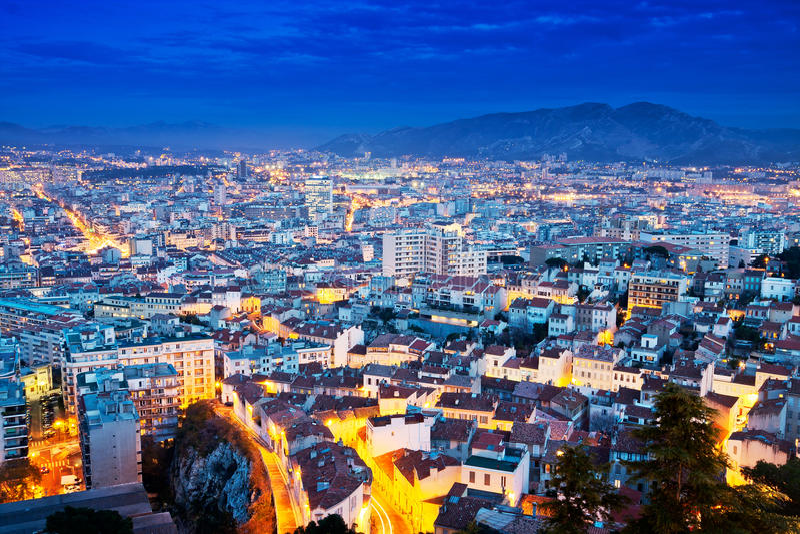 Marseille stock image