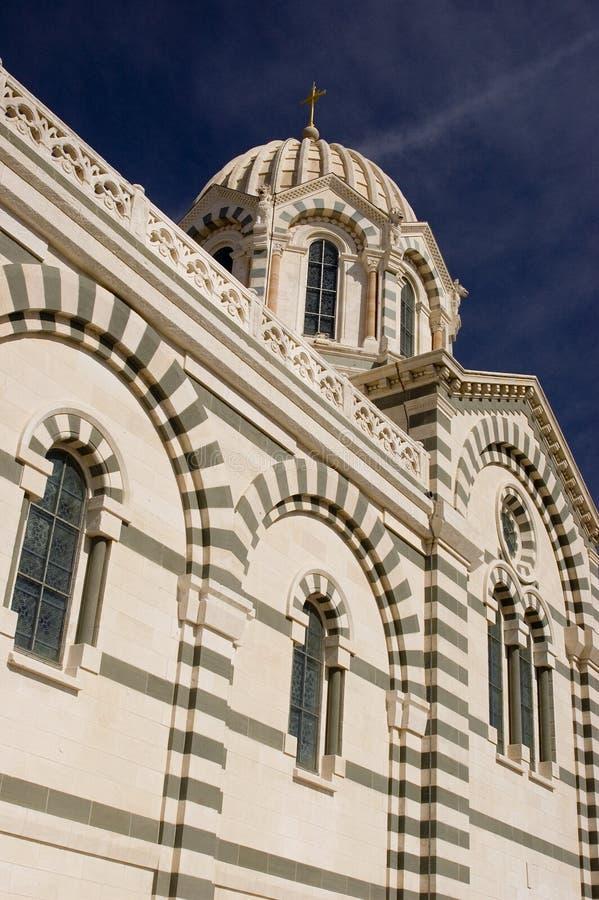 Marseille Church stock photography