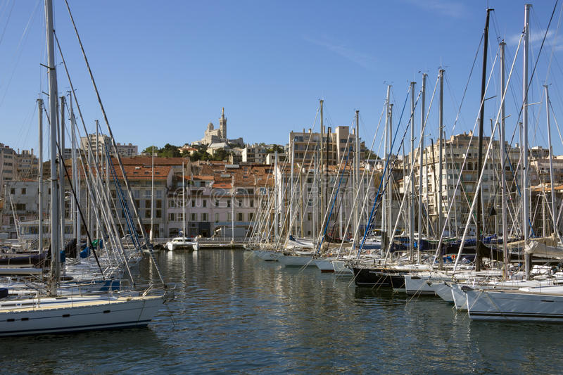 Marseille - Cote d'Azur - French Riviera stock photography