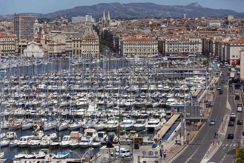Marseille - Cote d'Azur - South of France stock photography