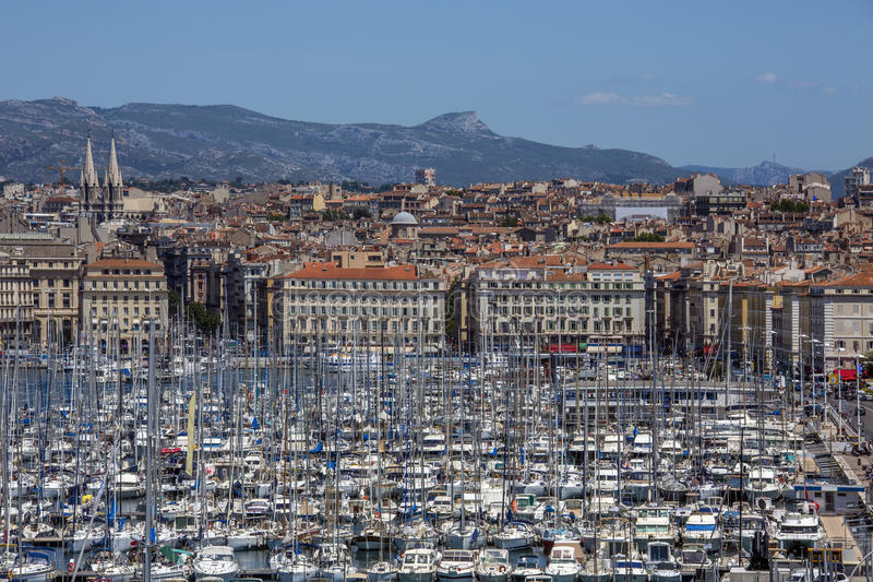 Marseille - French Riviera - South of France royalty free stock photo