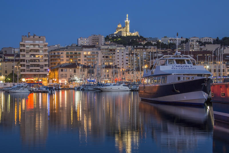 Marseille - French Riviera - South of France stock photography