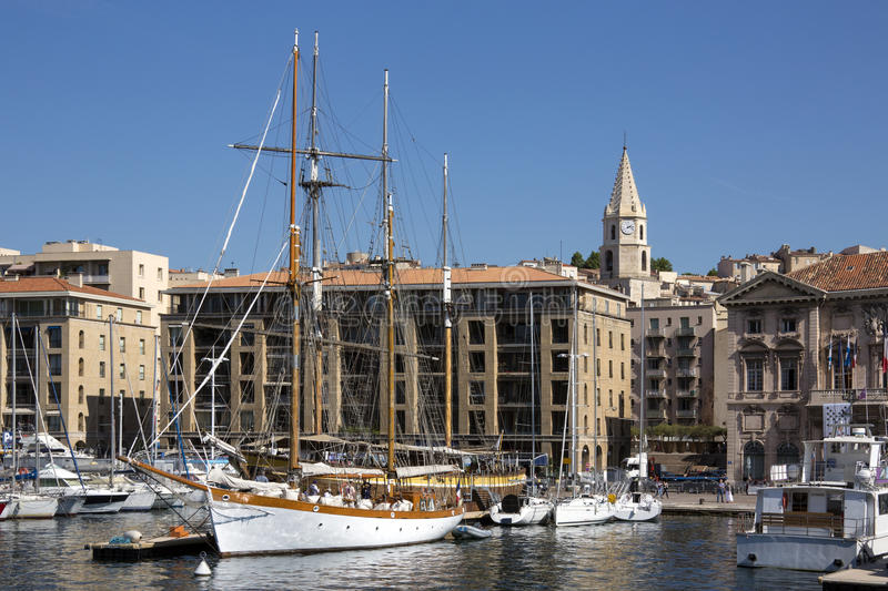 Marseille - French Riviera - South of France royalty free stock photos