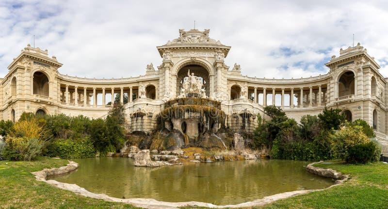 Marseille Palais Longchamp obrazy stock
