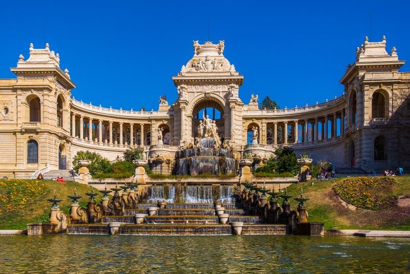 Marseille-Palais Longchamp photo libre de droits