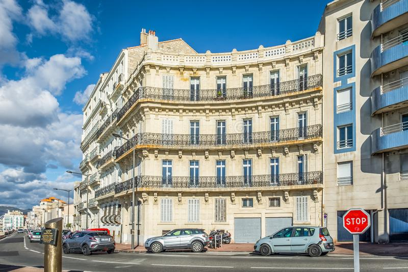 Marseille Paul Ricard kwadrat zdjęcia stock