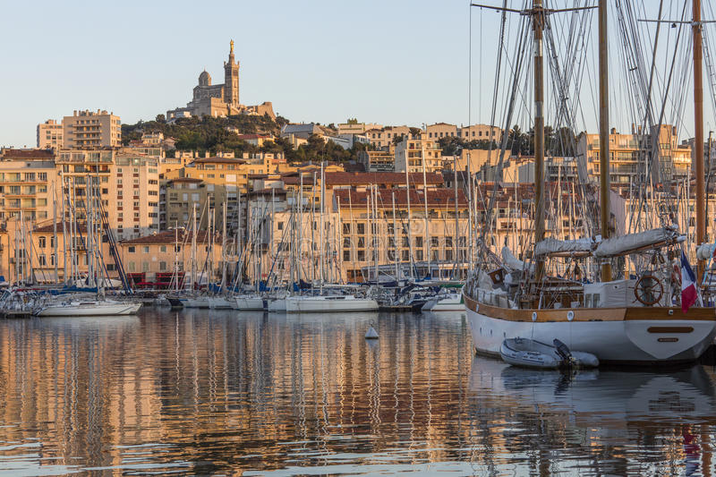 Marseille - South of France stock images