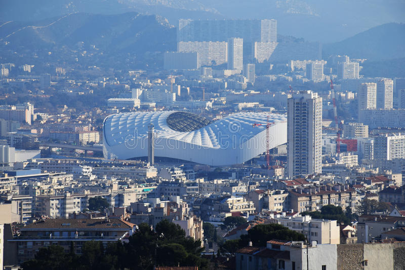 Marseille stadium obraz royalty free