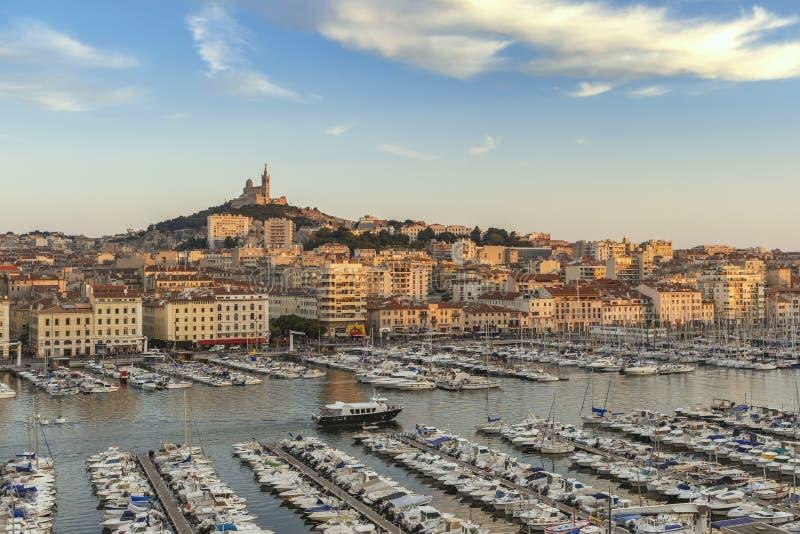 Marseille Vieux port Francja obraz royalty free
