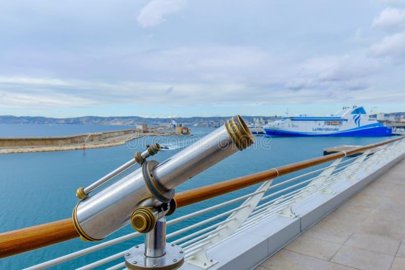 Marseilles torntittare arkivfoton