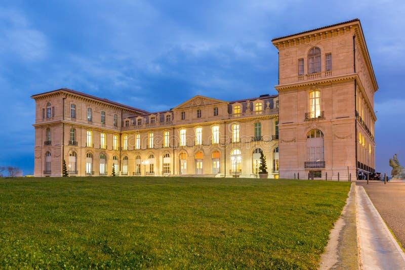 Marselha Palais Pharo imagem de stock royalty free