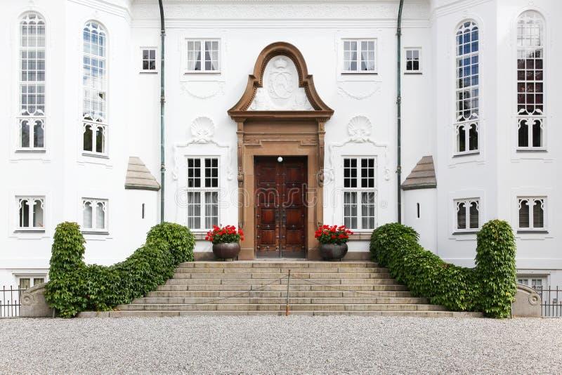 Marselisborg palace in Aarhus. Denmark stock photos