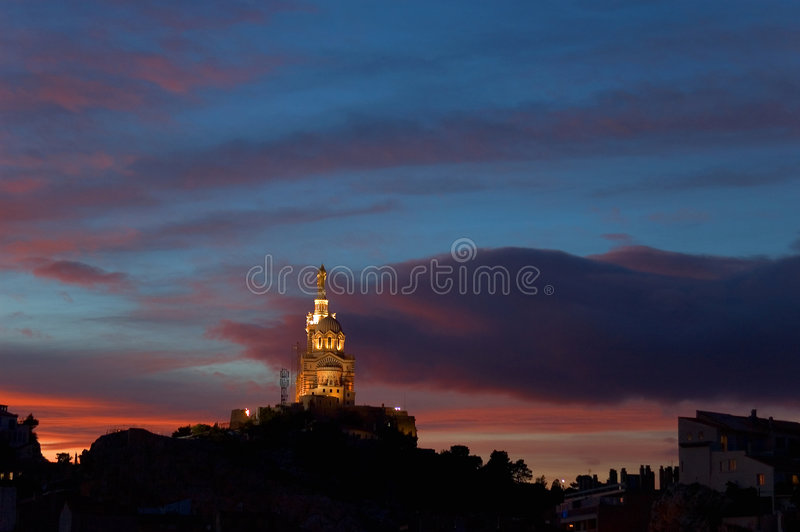 Download Marsella 02 foto de archivo. Imagen de edificios, metrópoli - 1288402