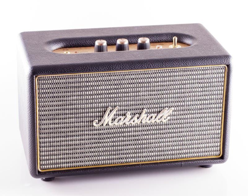 Marshall amp over white royalty free stock photos