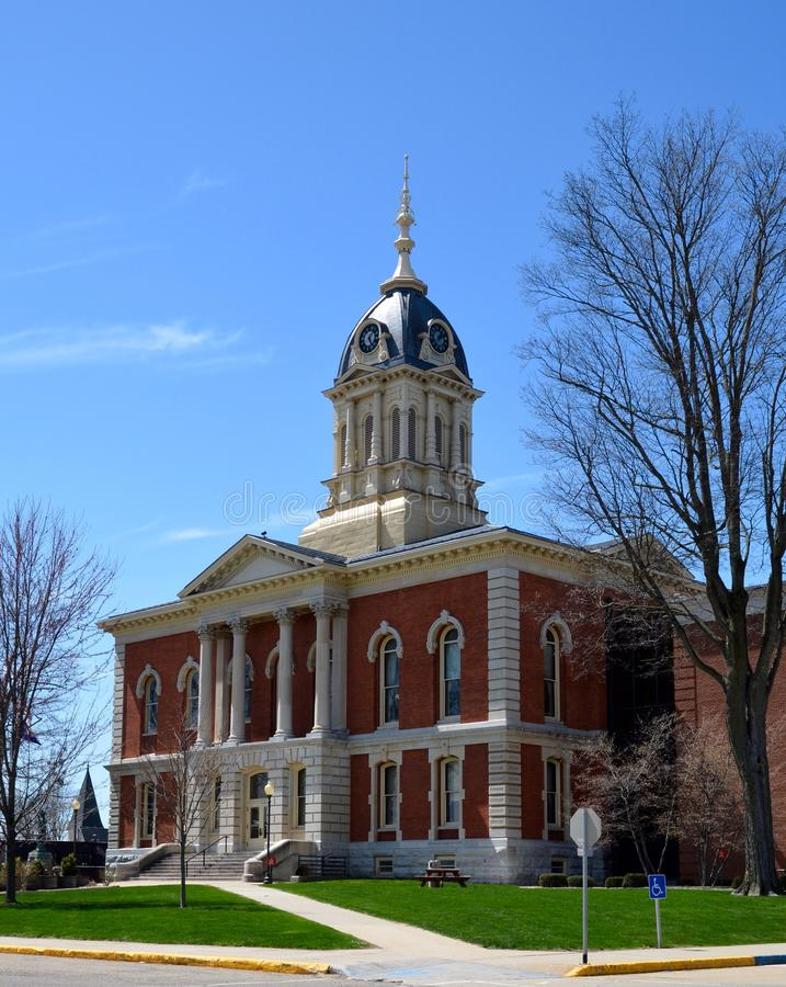 Marshall County Courthouse royalty-vrije stock foto