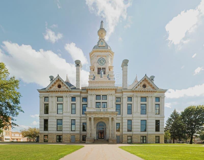 Marshall County, tribunal de Ioiwa fotografia de stock
