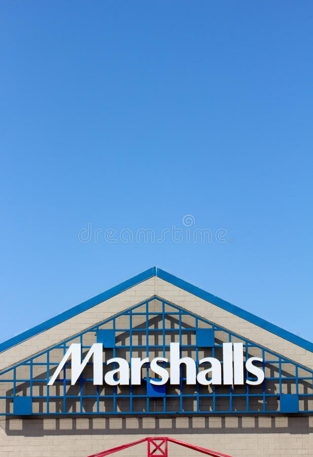 Marshall Department Store yttersida. royaltyfri foto
