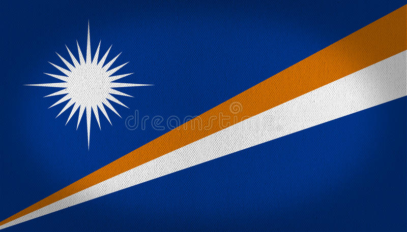 Marshall Islands Flag libre illustration