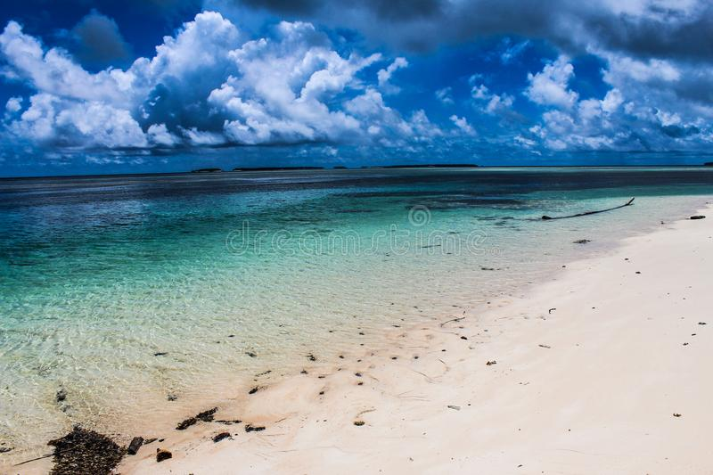 Marshall Islands in May 2015. Marshall Islands beaches in May 2015 stock photos