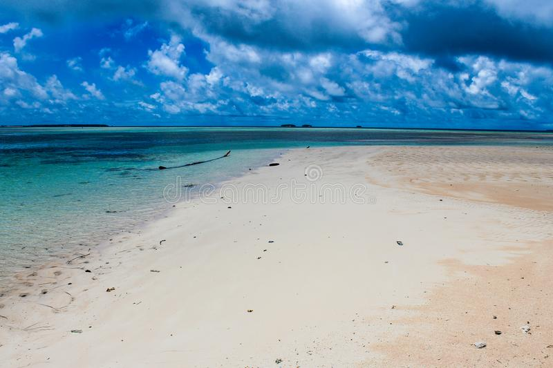 Marshall Islands in May 2015. Marshall Islands beaches in May 2015 royalty free stock photography